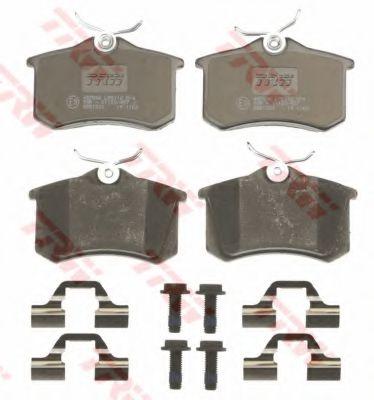 комплект спирачно феродо, дискови спирачки GDB1330
