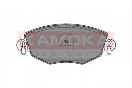 комплект спирачно феродо, дискови спирачки JQ1012850