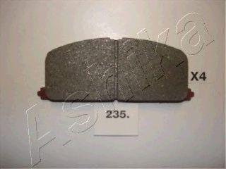 комплект спирачно феродо, дискови спирачки 50-02-235