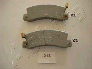 комплект спирачно феродо, дискови спирачки 51-02-213