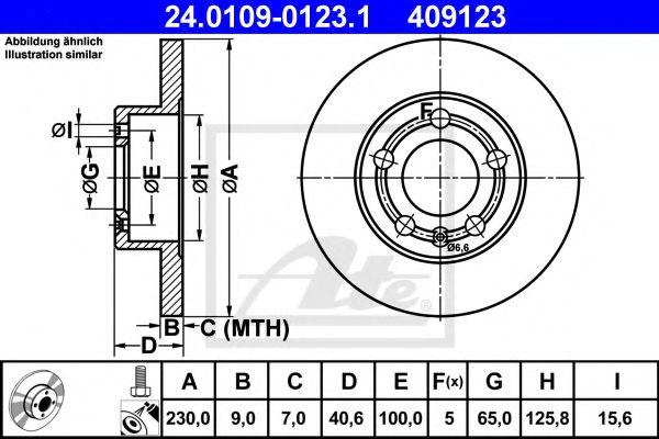 спирачен диск 24.0109-0123.1
