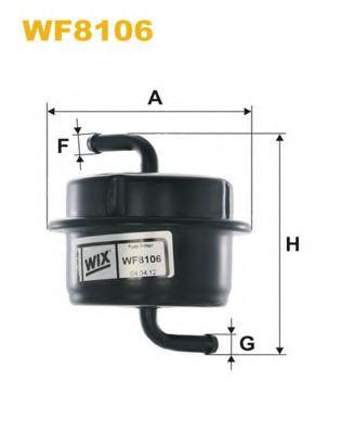 горивен филтър WF8106