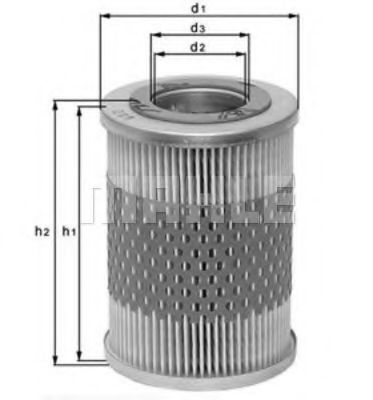 Fram CH801PL Oil Filter