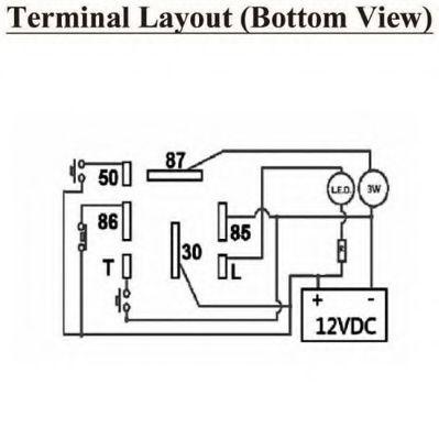 bosch relay module dual relay module wiring diagram