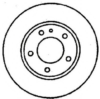 спирачен диск 561176J
