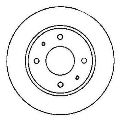 спирачен диск 561592J