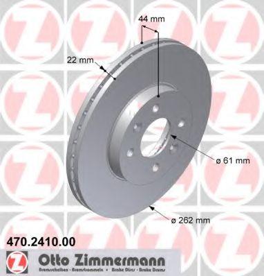 спирачен диск 470.2410.00