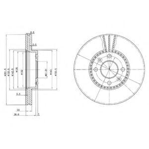 спирачен диск BG2693